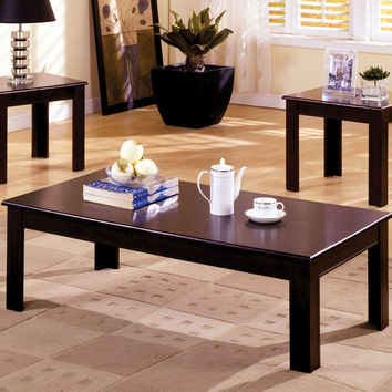 Coffee Table & End Tables 3Pc.Set  Cm4168-3Pk