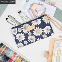 Flower Pencil Case Kawaii Pencilcase Stationery School Supplies Pencils Storage School-supplies Bts Pencil Cases School Supply