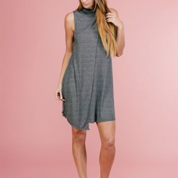 Nora Turtle Neck Layer Dress