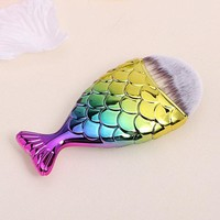 Beauty Makeup Tools Mermaid Makeup Brushes Fish Brush