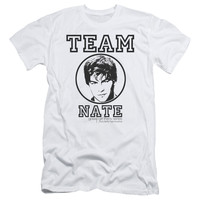 GOSSIP GIRL/TEAM NATE - S/S ADULT 30/1 - WHITE -
