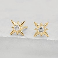 North Star Studs - Gold