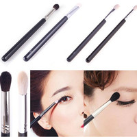Free Shipping 4 Pcs/Set New Hot Professional Blending Eyeshadow Powder Makeup Eye Shader Brush Cosmetic Makeup Brushes Kit