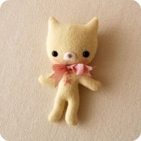 Tag-Along Kitten Pdf Pattern