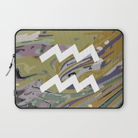 AQUARIUS Laptop Sleeve by KJ Designs