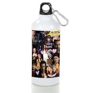 Gift Sport Bottles | Once Upon Time Collage Red Apple Tv Series Aluminum Sport Bottles