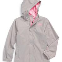 The North Face Girl's 'Zipline' Rain Jacket,