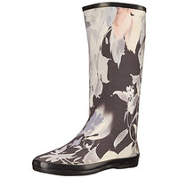 Dirty Laundry Womens Supernova Floral Print Knee-High Rain Boots