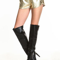 Metallic Running Shorts - LoveCulture