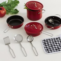Red Cookware Set | Pottery Barn Kids