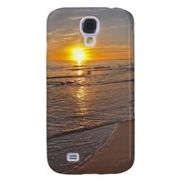 Case: Sunset by the Beach Samsung Galaxy S4 Cover