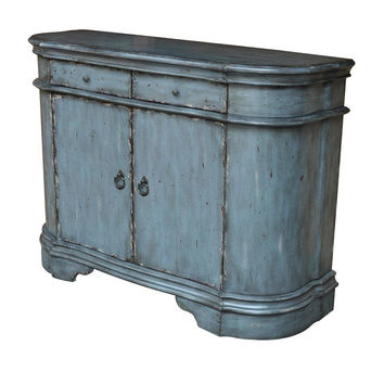 Harrison Distressed Grey Cabinet