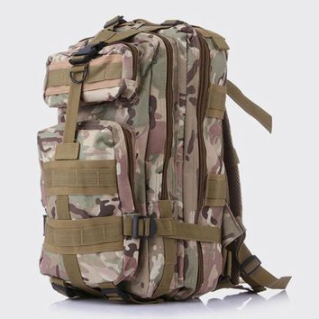 Fashion 3P Military Men Backpack 3D Camouflage travel Backpack male Rucksack Bagpack Waterproof Mountaineering Bag Luggage bag