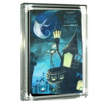 The Nightmare Before Christmas Jack Sally 3D Acrylic Display Piece Paperweight