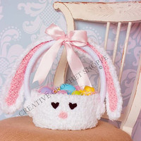 Easter Bunny Authentic Basket!