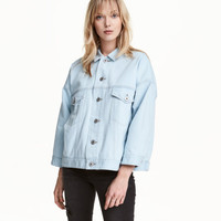Oversized Denim Jacket - from H&M