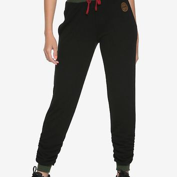 Destination Disney Mulan Scrunch Jogger Pants