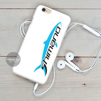 Shimano Fishing Logo White iPhone Case Cover Series