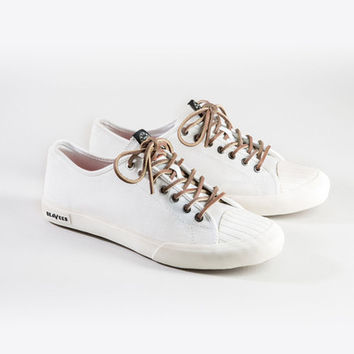 Natural Hemp Todd Snyder + Seavees Army Issue Low Sneaker