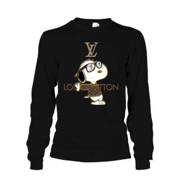 ONETOW Snoopy Louis Vuitton Joe Cool Long Sleeve Tee