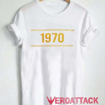 1970 striped T Shirt Size XS,S,M,L,XL,2XL,3XL