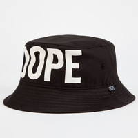 Dope Overt Mens Bucket Hat Black/White