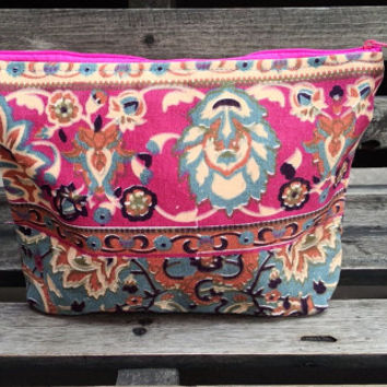 Cute Handbags Clutch Bag Wrist let Tribal Cosmetic by OwlNightMare