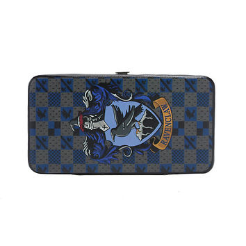 Harry Potter Ravenclaw Checkered House Crest Hinge Wallet