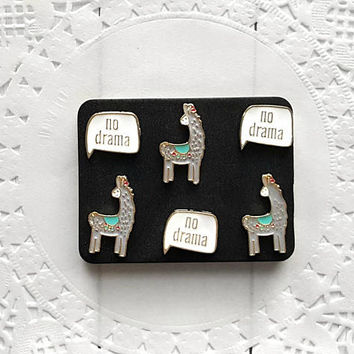 Llama Decorative Pushpins, Thumb Tacks, Llamas, Drama Llama, Decorative Push Pins, Pushpins, Thumbtacks, Novelty Pushpins, Fun Thumb Tacks