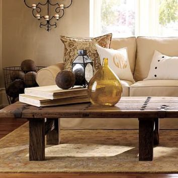 Superbe Hastings Reclaimed Wood Coffee Table | Pottery Barn