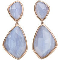 Monica Vinader 'Siren' Semiprecious Stone Double Drop Earrings | Nordstrom