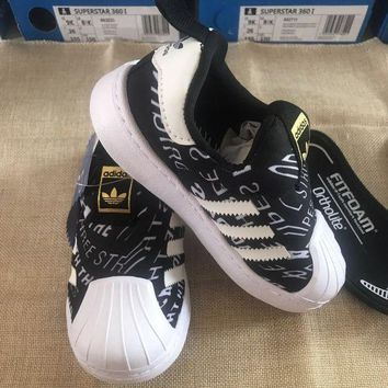 DCCK8X2 ADIDAS Girls Boys Children Baby Toddler Kids Child Durable Print Sneakers Sport Shoes