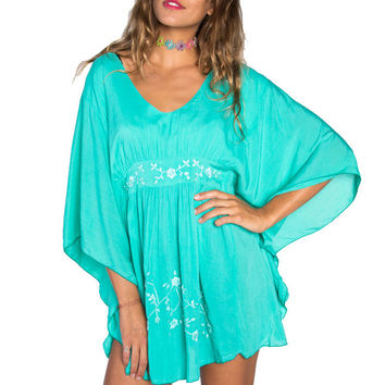 Teal Vava Dress