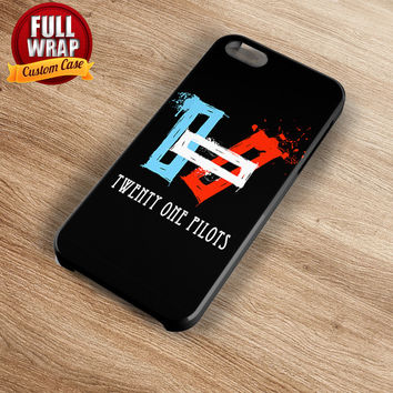 Twenty One Pilots Logo Full Wrap Phone Case For iPhone, iPod, Samsung, Sony, HTC, Nexus, LG, and Blackberry