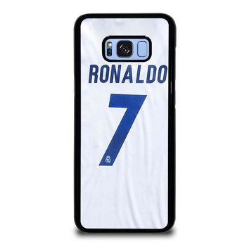 RONALDO CR7 JERSEY REAL MADRID Samsung Galaxy S8 Plus Case Cover