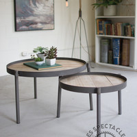 Numéro 3 Nesting Coffee Table Set