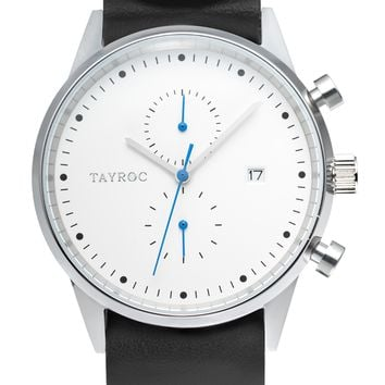 TXM089 - Black Leather NATO