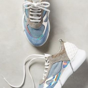 Elena Iachi Happy Iridescent Sneakers