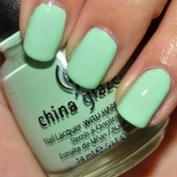 Image detail for -Health & Beauty » China Glaze Refresh Mint Nail Polish