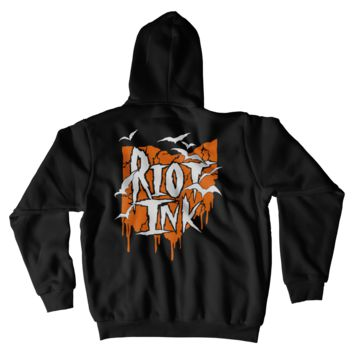 Riot Ink Zip Hoody