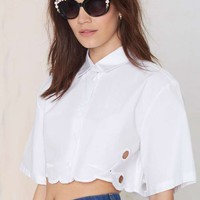 Alice McCall Ball Boy Crop Blouse
