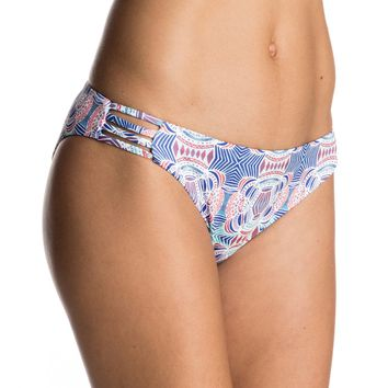 Printed Strappy Love Reversible 70's Bikini Bottoms ERJX403343 | Roxy