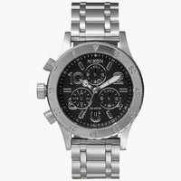 Nixon 38-20 Chrono Watch Black One Size For Men 25939010001