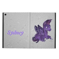 iPad case Dark pegasus illustration