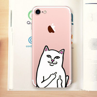 Cheap Cat Case Cover for iPhone 7 7 Plus & iPhone se 5s 6 6s Plus +Gift Box