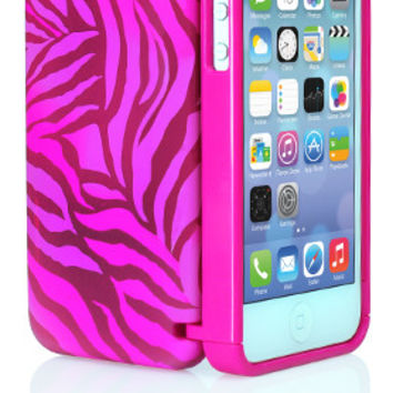 eyn for iPhone 5/5s - Pink Zebra