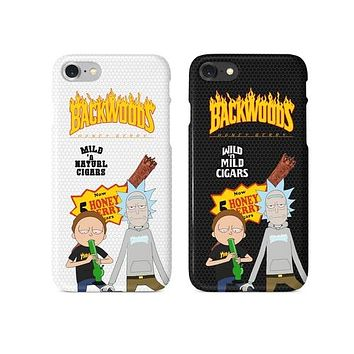 Rick and Thrasher Backwoods Cigar Phone Case
