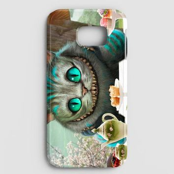 Alice In Wonderland Cat Samsung Galaxy S8 Case