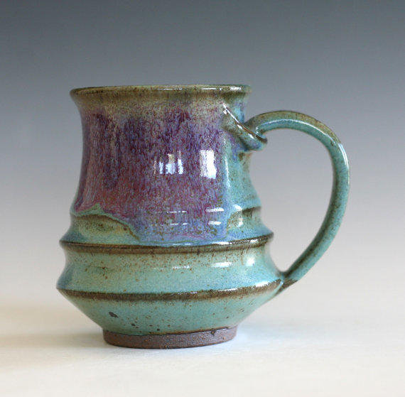 Coffee Mug Pottery Unique Coffee Mug From Ocpottery On Etsy