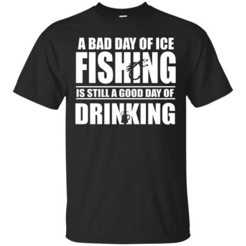 A Bad Day of Ice Fishing Is Still a Good Day of Drinking
